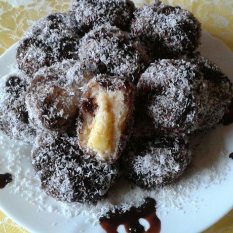 Kókuszos citromos vaníliás fánk