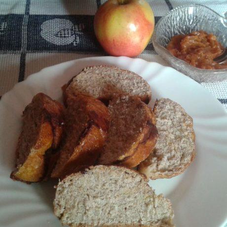 Mentes almás kalács