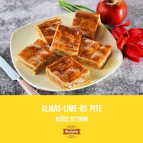 Almás-lime-os pite
