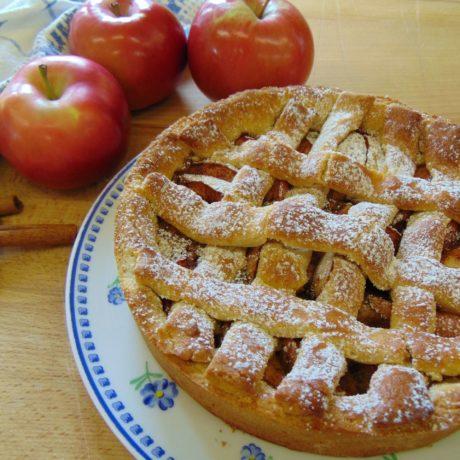 Glutén- és laktózmentes almás pite
