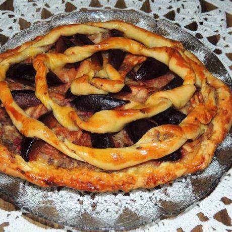 Szlovén szilvás sütemény