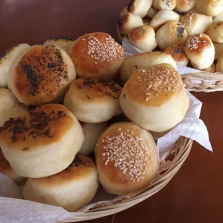 Farsangi burgonyás pogácsa