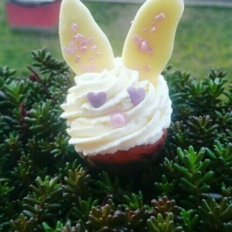 Mini kuglóf cupcake