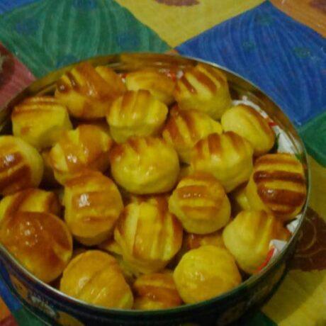 Hűtőben kelesztett krumplis pogácsa