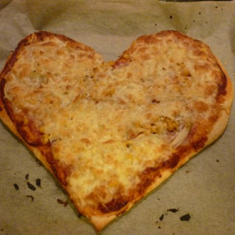 Dupla sajtos pizza