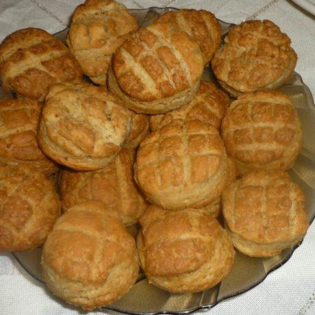 Tepertős pogácsa