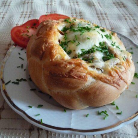 Húsvéti pizzakosár