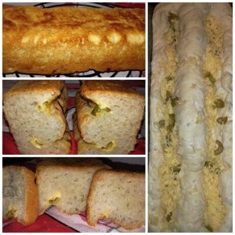 olivás-fokhagymás kenyér