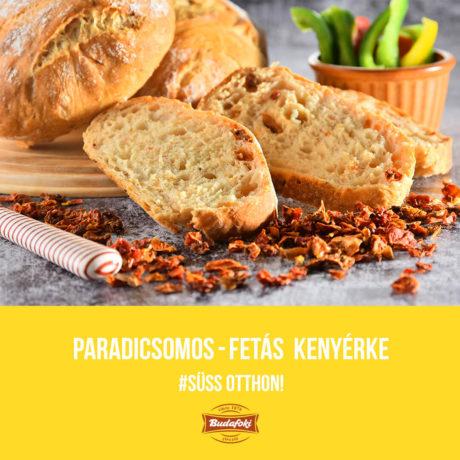 Paradicsomos-fetás kenyérke