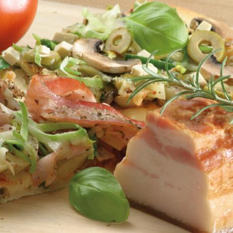 Francia tejfölös pizza (Alsace-i lepény)