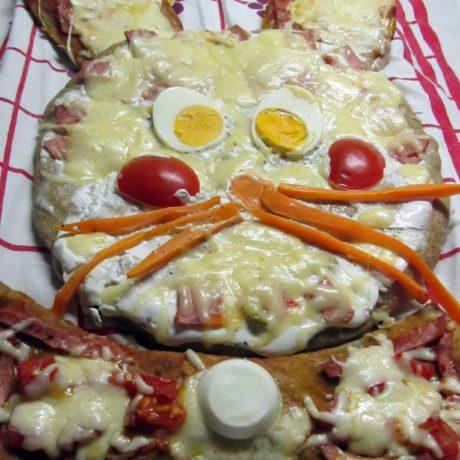 Pizza nyuszi