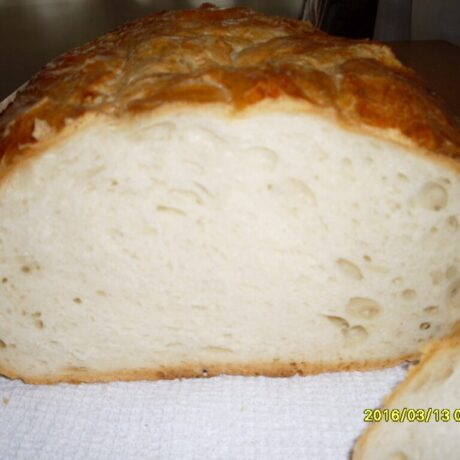 Gyors kovászos kenyér