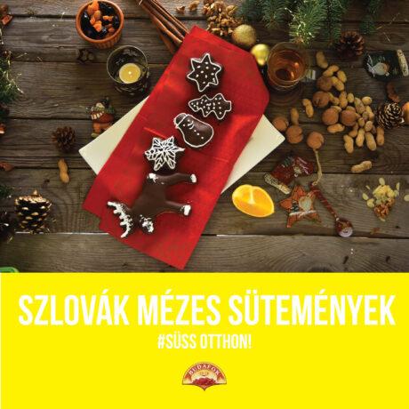 Szlovák mézes sütemények