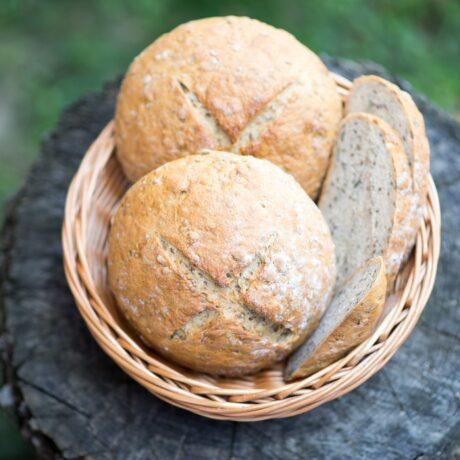 Rozsos-magvas kenyér