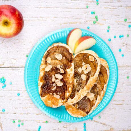 Gluténmentes almás-fahéjas korong
